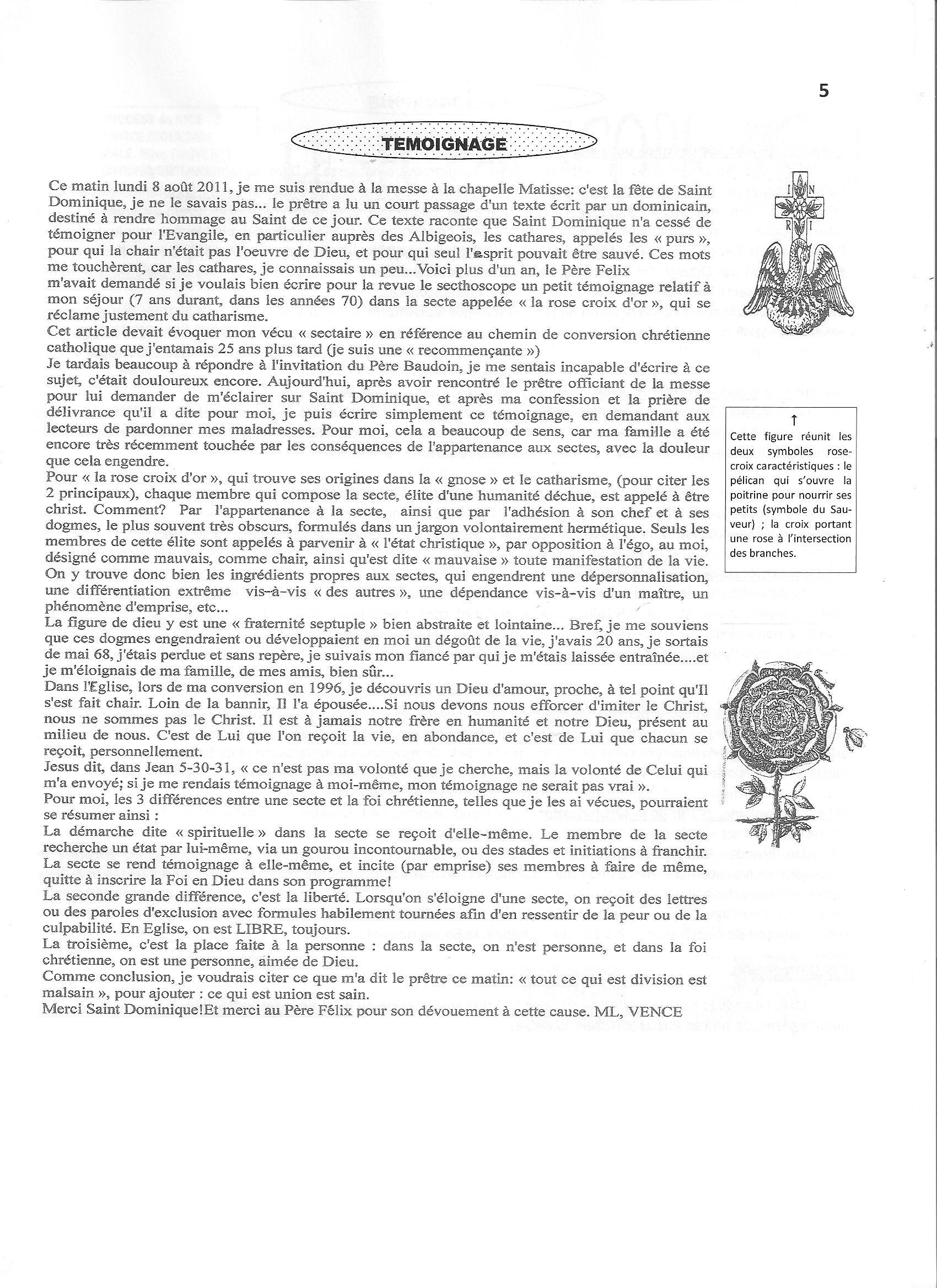 Pastorale Nouvelles Croyances Et Derives Sectaires 72 Esoterisme
